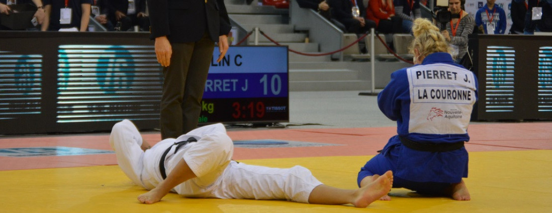 JULIE PIERRET CHAMPIONNE DE FRANCE